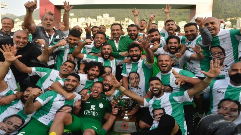 الأنصار بطلًا للدوري اللبناني لكرة القدم
