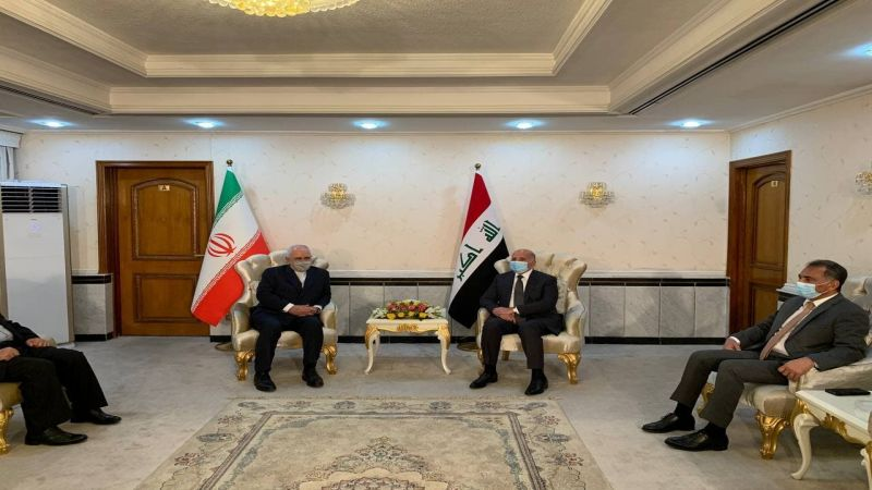 ظريف من بغداد: نأمل أن تنتهج واشنطن سياسة معقولة وتعود الى الإتفاق النووي
