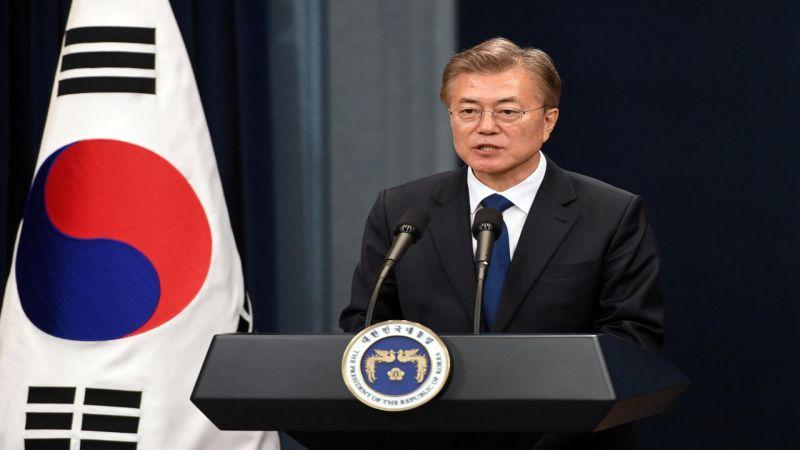 رئيس كوريا الجنوبية: الوقت يقترب لاستئناف الحوار بين الكوريتين