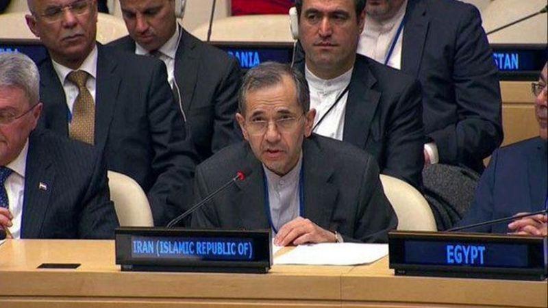 طهران تنتقد الصمت الدولي تجاه ممارسات الصهاينة والعدوان على اليمن والحظر على سوريا