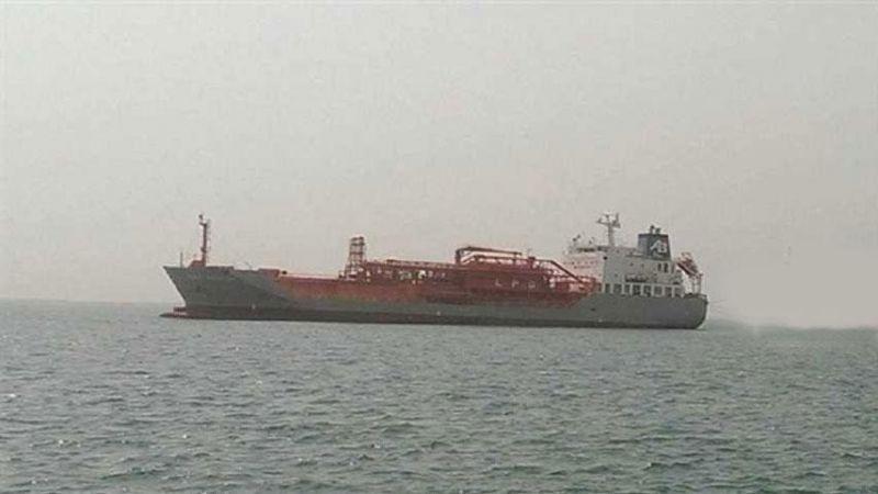 العدوان السعودي يحتجز سفينة جديدة تحمل مازوتًا في اليمن