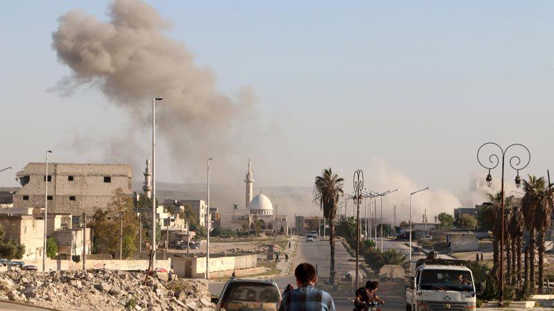 ريف حلب: الاحتلال التركي يعتدي بقذائف المدفعية على منازل المدنيين