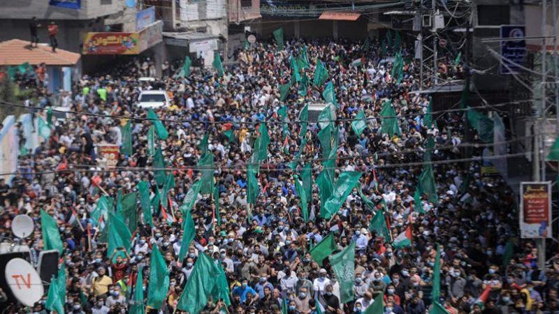 مسيرات غاضبة في غزة رفضًا لتأجيل الانتخابات