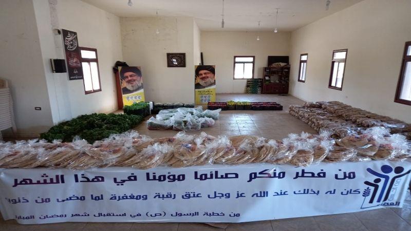 بالصور: في شهر الرحمة .. أجواء الخير تعمّ بلدة الشواغير في الهرمل