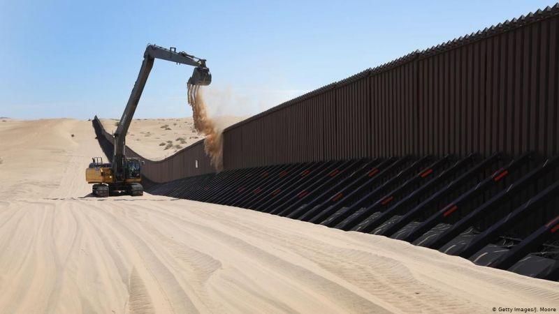 """بايدن يلغي مشاريع تمويل البنتاغون لجدار """"ترامب"""" على حدود المكسيك"""