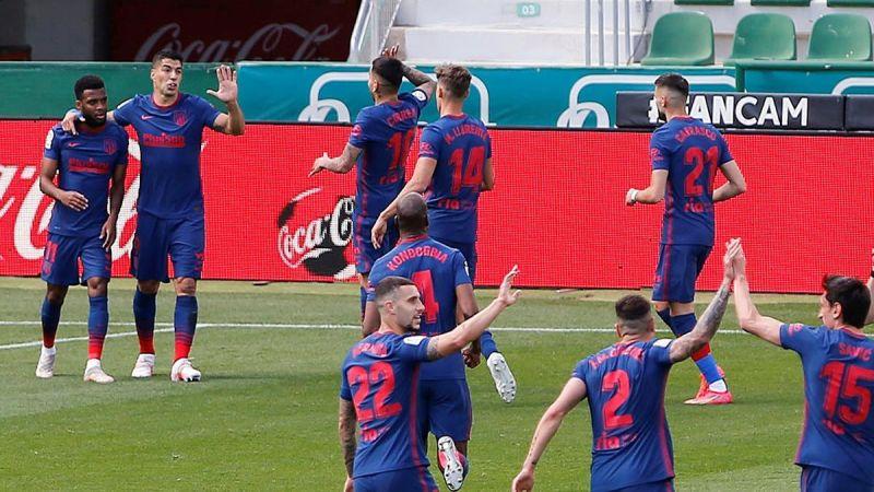 اتلاتيكو مدريد يطيح بالتشي ويحتفظ بالصدارة.. وفوز صعب لريال مدريد