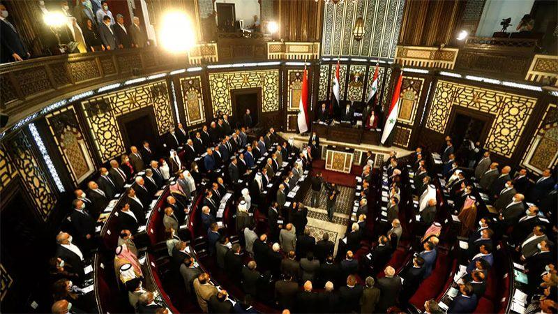أعضاء في مجلس الشعب السوري يشددون على شرعية الانتخابات الرئاسية