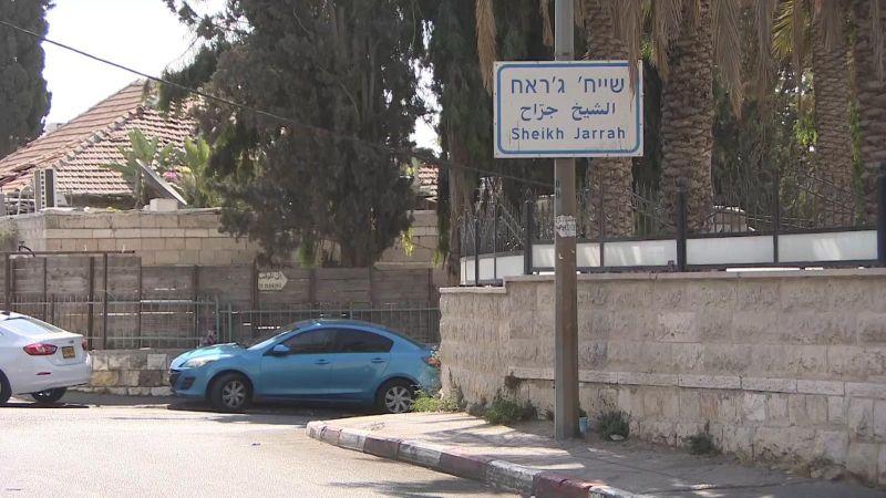 حي الشيخ جراح والخطوط الأمامية للقدس