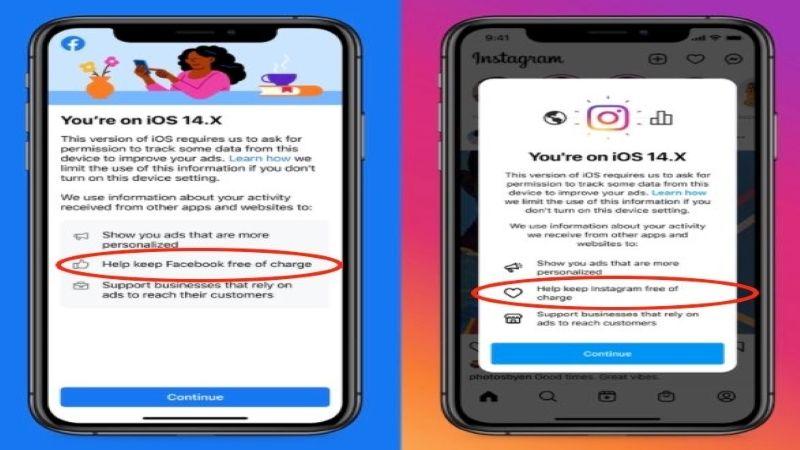 """""""فايسبوك"""" و """"إنستغرام"""" قد لا يبقيان مجانيَّين على أجهزة IOS!"""