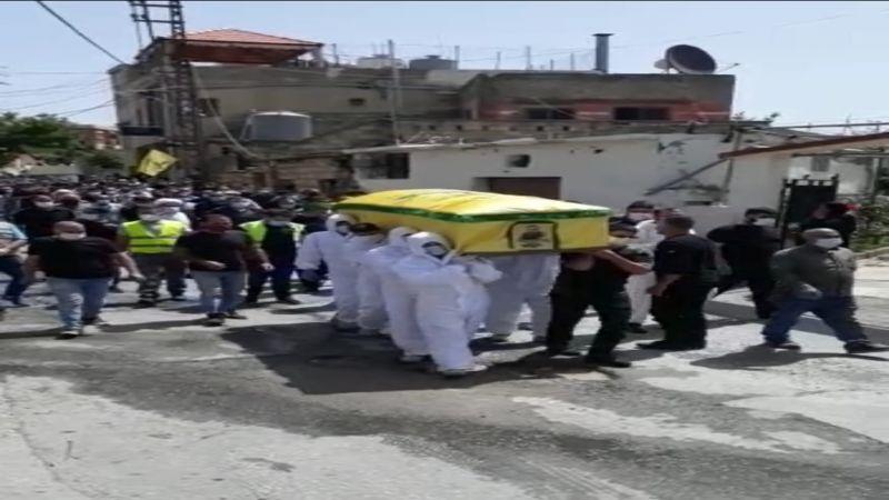 حزب الله يشيّع الفقيد المجاهد محمد رضا مكي في رومين