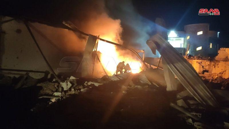 الدفاعات الجوية السورية تتصدى لهجوم صاروخي إسرائيلي معادي يستهدف مواقع في اللاذقية وحماة