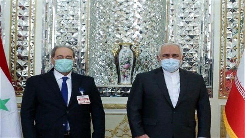 سوريا وإيران تبحثان علاقات البلدين وسُبل تطويرها وتعزيزها