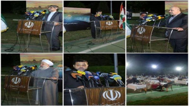 السفير الإيراني في إفطار يوم القدس العالمي: نحن أقرب ما يكون إلى تحرير القدس