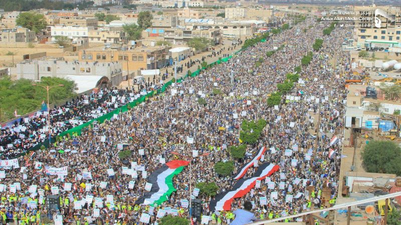 مسيرات يمنية مليونية في يوم القدس العالمي .. وتأكيد على خيار المقاومة