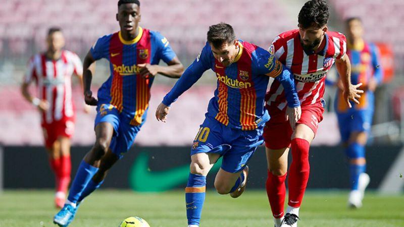 تعادل برشلونة وأتليتيكو يمنح  ريال أفضلية في سباق اللقب