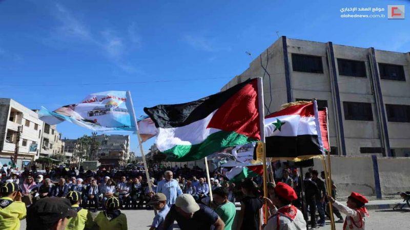 حمص تحتفي بيوم القدس العالمي: الأقصى قبلتنا