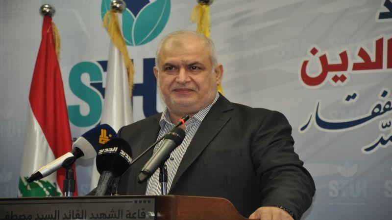 رعد: أزمة لبنان مفتعلة لتلوي ذراع المقاومة ومصيرها الفشل الذريع