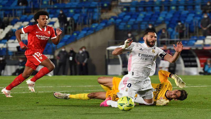 ريال مدريد ينجو من كمين اشبيليا