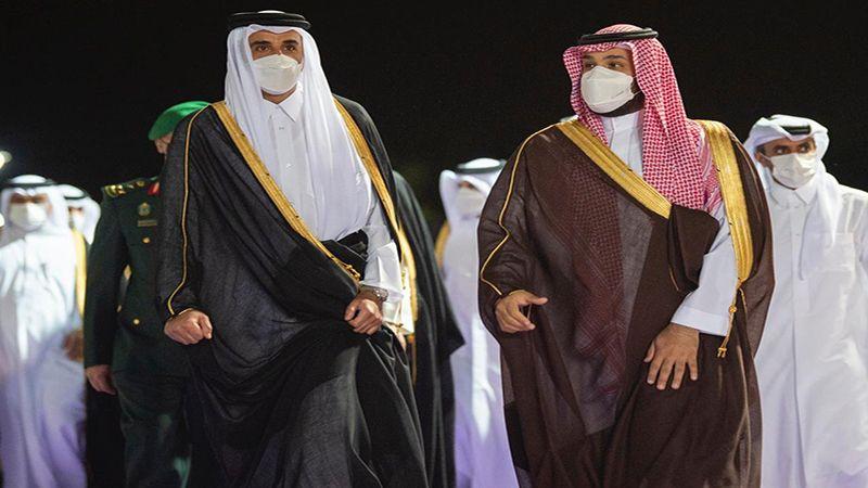 زيارة خاطفة لأمير قطر إلى السعودية