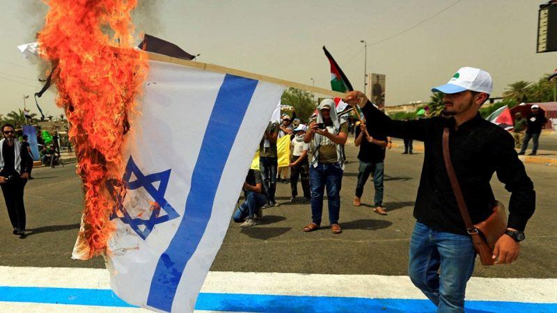 قوى سياسية عراقية تعلن مناصرتها لفلسطين وادانتها للاعتداءات الإسرائيلية