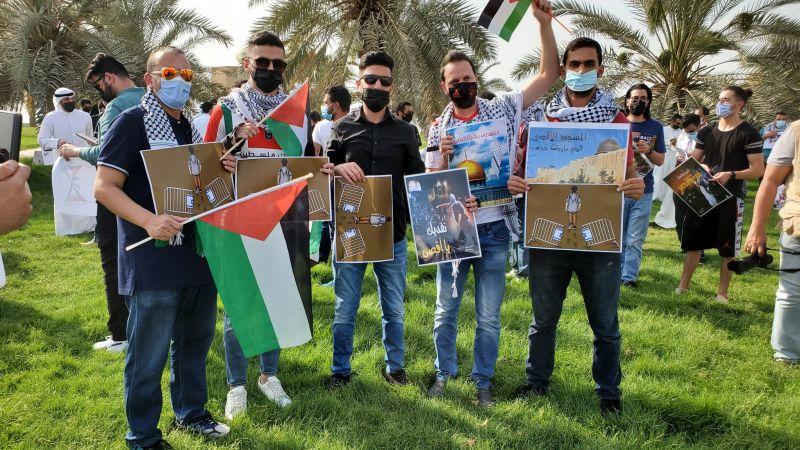 الكويت نظامًا وشعبًا مع فلسطين ومقاومتها