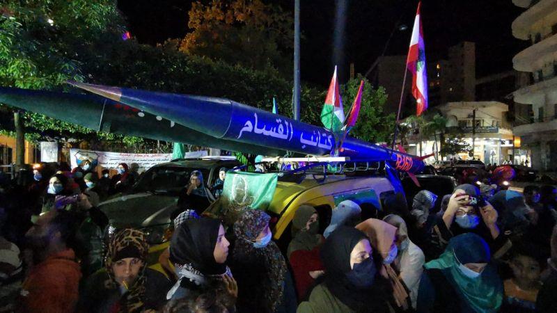 """ممثل """"حماس"""" في لبنان: رد المقاومة سيتواصل حتى يتراجع الاحتلال"""