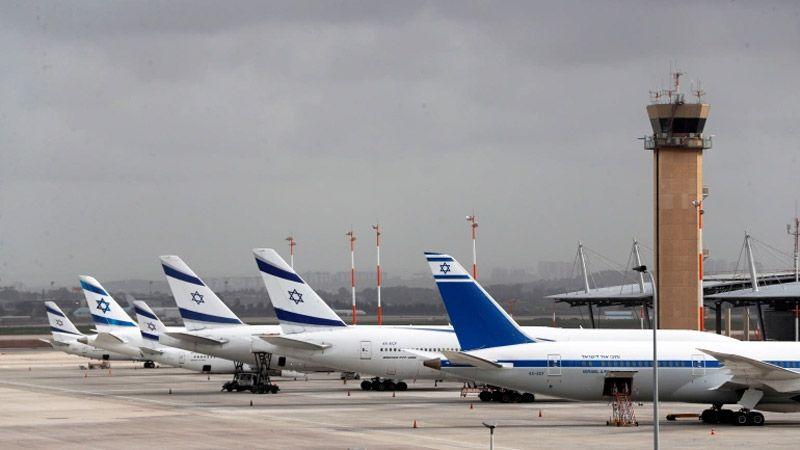"""مطار """"بن غوريون"""" في """"تل أبيب"""" خارج الخدمة"""