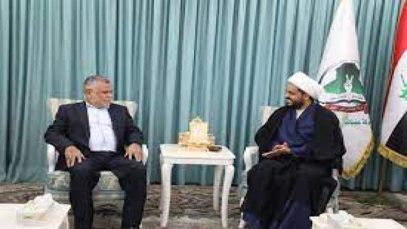 العامري والخزعلي: مع فلسطين بمواجهة قوى الطغيان والاستكبار الظالم