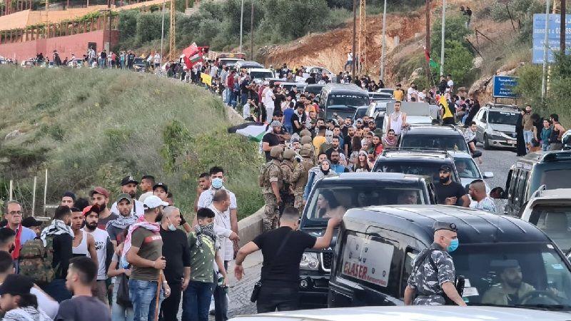 من البرّ إلى البحر .. يوم تضامنيّ حاشد مع فلسطين