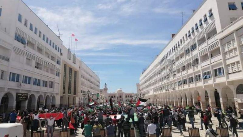 حراك تونسي ومغاربي شعبي واسع دعمًا للانتفاضة الفلسطينية