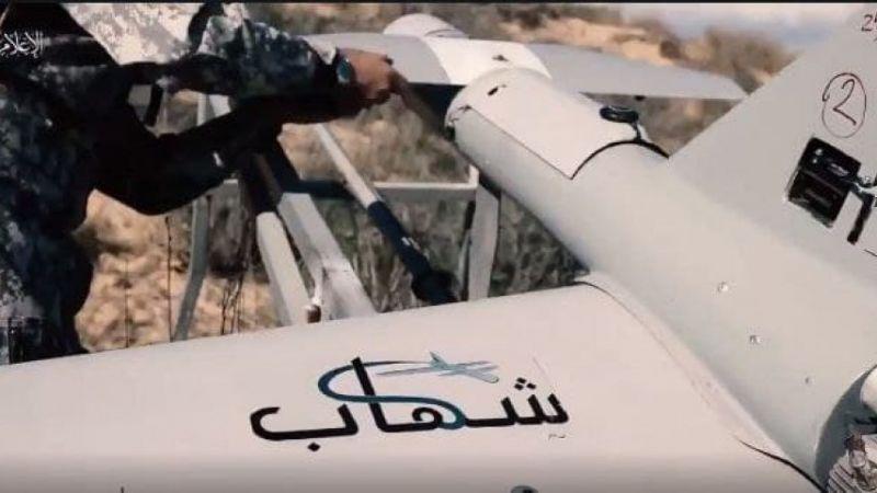 """طائرة شهاب الانتحارية تستهدف تجمعا لجنود العدو في """"كيسوفيم"""""""