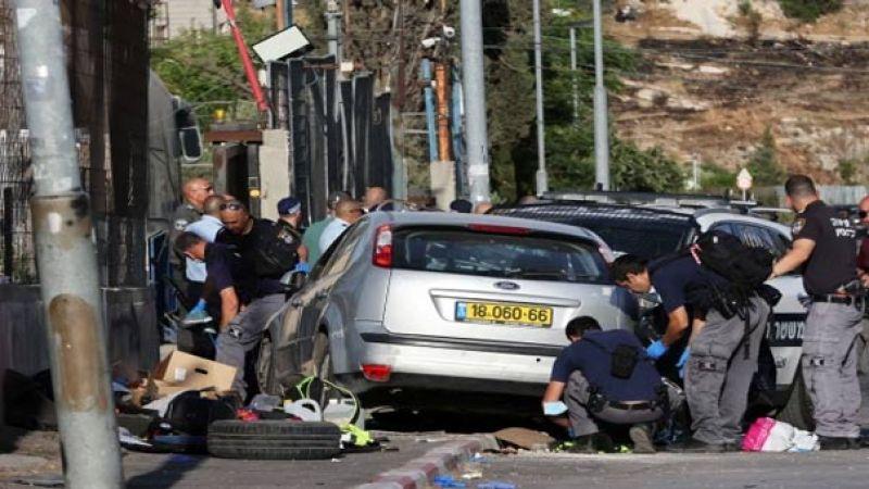 بالفيديو..إصابة 6 جنود إسرائيليين في عملية دهس في حي الشيخ جراح بالقدس