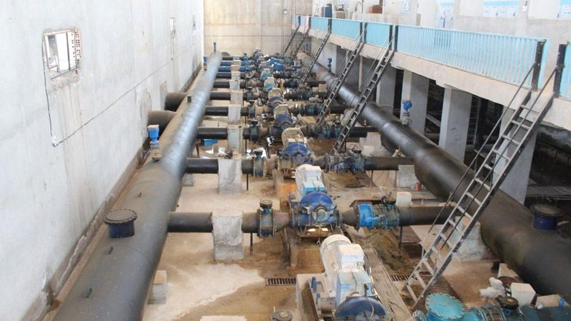 الحسكة: الاحتلال التركي يسرق كهرباء محطة مياه علوك