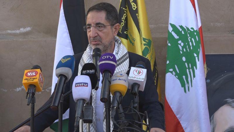 الحاج حسن: الشعب الفلسطيني أثبت جهوزيته للتضحية من أجل الحفاظ على مقدساته