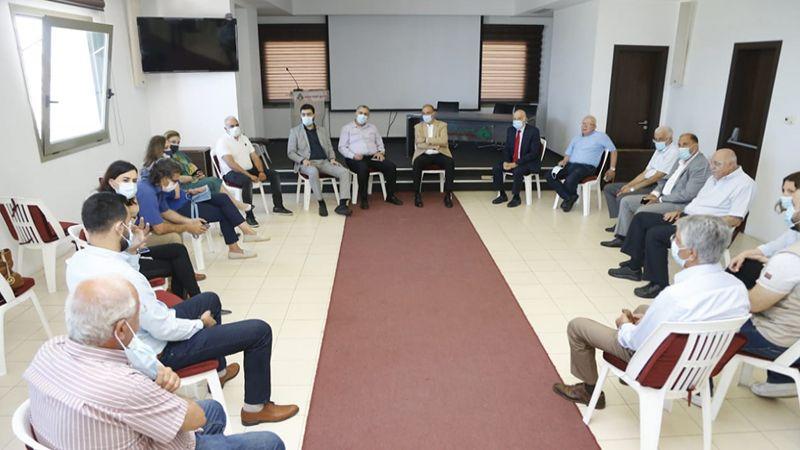 وزير الصحة بحث مع منظّمات أهلية في مبادرة تضامنية مع الفلسطينيين
