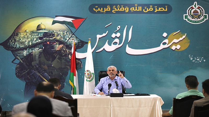 """السنوار: تنسيقٌ عالٍ بين المقاومتين الفلسطينية واللبنانية في معركة """"سيف القدس"""""""