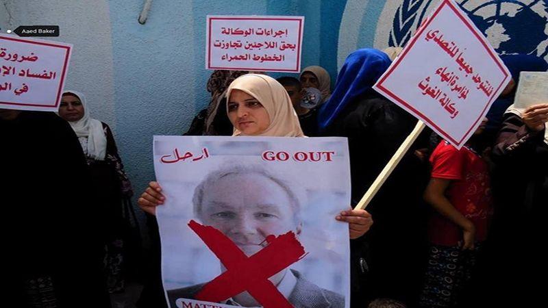 القوى الوطنية والاسلامية في غزة تُطالب برحيل مدير عمليات الأونروا