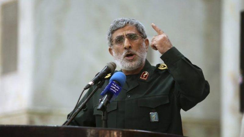 العميد قاآني للفلسطينيين: استعدوا لإدارة كل بلادكم.. على العدو أن يفكر بترك هذه الأرض