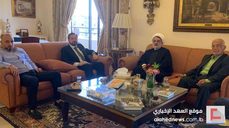 وفد من حزب الله زار كرامي في ذكرى استشهاد رشيد كرامي