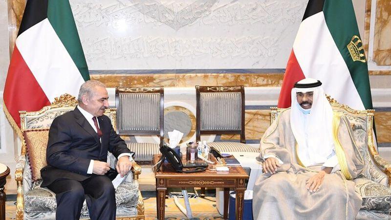 أمير الكويت: موقفنا ثابت ومُساند للقضية الفلسطينية