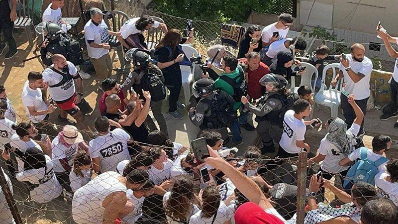 """إصابات بقمع الاحتلال """"ماراثون القدس"""""""