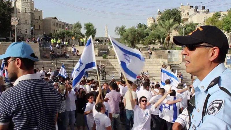 إلغاء مسيرة الأعلام يُفقد المتطرّفين الصهاينة صوابهم