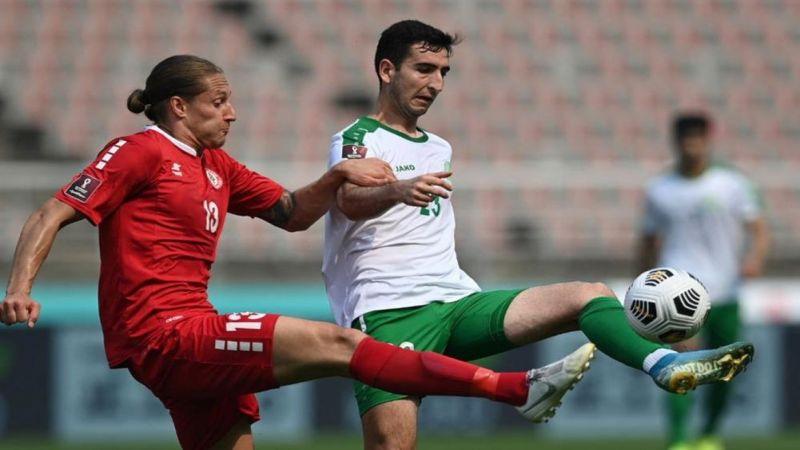 هزيمة المنتخب اللبناني أمام التركمانستاني تقلّص آماله المونديالية