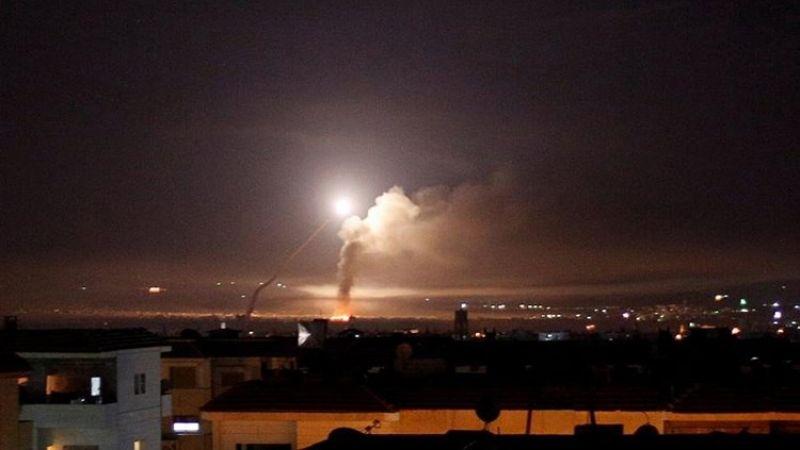 عدوان إسرائيلي جديد على سوريا ليل أمس