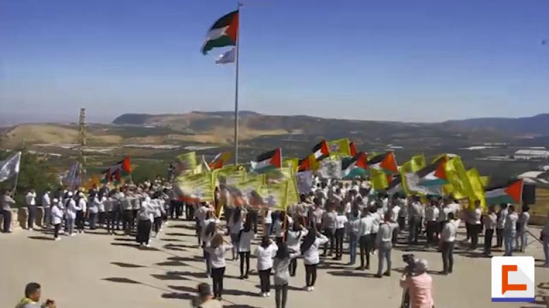 كشفيو فلسطين في مارون الراس.. تأكيد على الوفاء لقضية الأمة