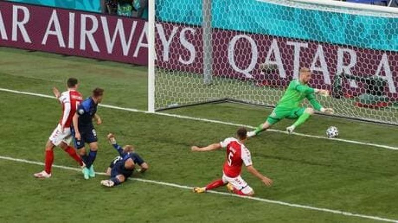 يورو 2020: اركسون ينجو من الموت.. فنلندا تفاجئ الدنمارك وتعادل لويلز
