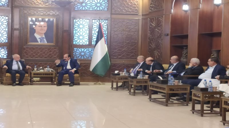 """أعضاء ووفد المؤتمر القومي العربي يتحدّثون لـ""""العهد"""" عن أجواء زيارتهم لسوريا"""