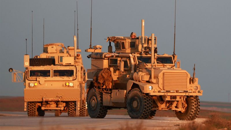 الاحتلال الأمريكي يواصل سرقة الخيرات السورية