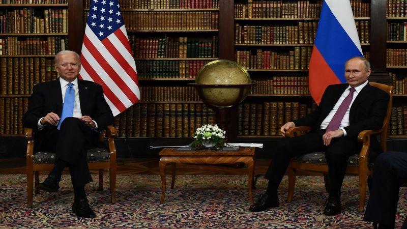 4 ساعات من المحادثات في جنيف.. بوتين وبايدن يتحدّثان عن آفاق لتحسين العلاقات