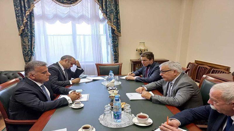 اللواء إبراهيم يبحث مع مسؤولين روس الوضع في لبنان والمنطقة